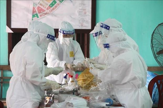 新冠肺炎疫情:全国新增37例本地病例 超过22560人完成2剂疫苗接种 hinh anh 1
