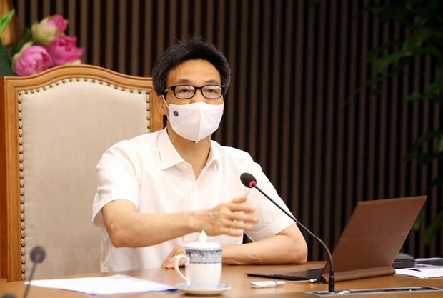 武德儋:全力以赴 切实做好北宁、北江两省工业区疫情防控工作 hinh anh 1