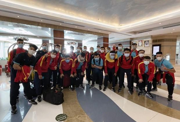 越南五人制足球队赴阿联酋参加附加赛 争夺五人制世界杯决赛入场券 hinh anh 1