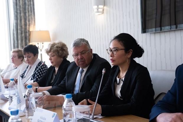 越南与欧亚经济联盟加强合作保障粮食安全 hinh anh 1