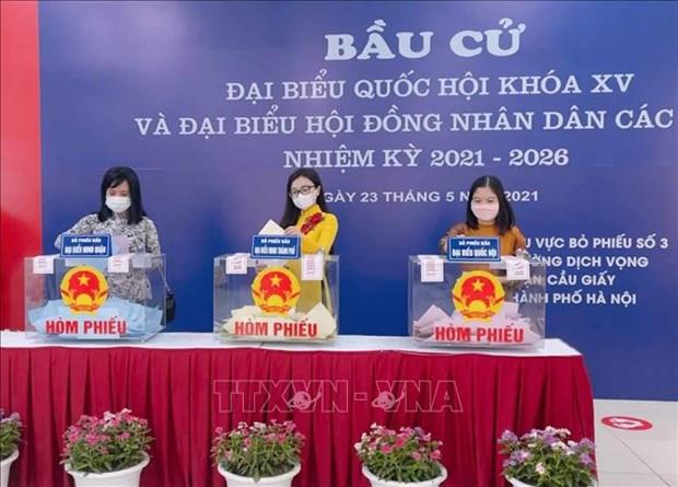 外国媒体纷纷报道越南国会及各级人民议会换届选举 hinh anh 1