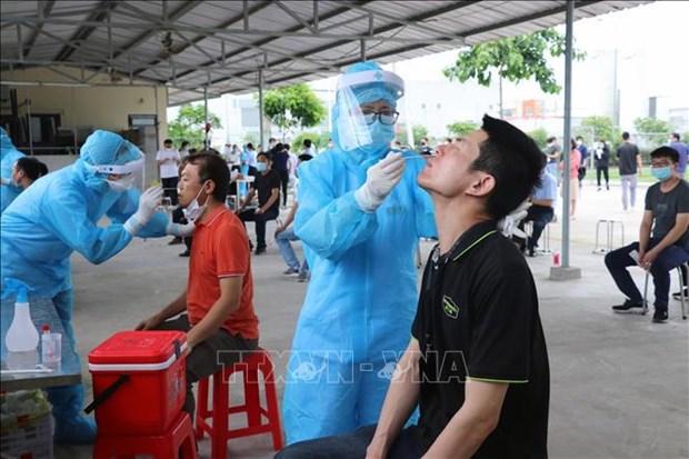 5月24日上午越南新增56例本土新冠肺炎确诊病例 hinh anh 1