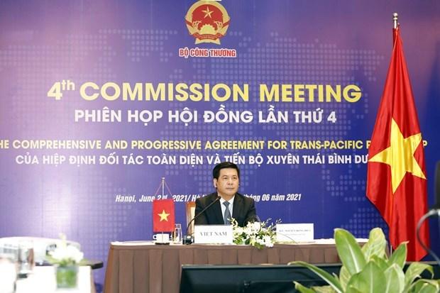 英国加入《全面与进步跨太平洋伙伴关系协定》谈判进程正式启动 hinh anh 1