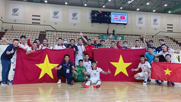 2021年五人制足球世界杯决赛阶段分组抽签结果出炉 越南队分在D组 hinh anh 1