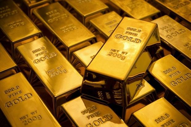 6月2日上午越南国内市场黄金价格上涨25万越盾 hinh anh 1