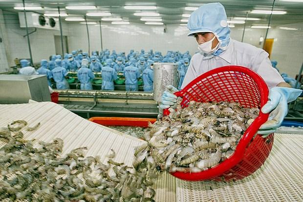 2021年前4个月越南对美国水产品出口额同比增长28% hinh anh 1