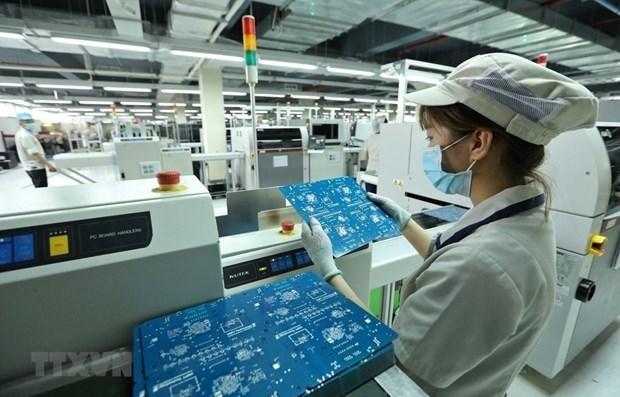 新冠肺炎疫情:胡志明市工业生产保持增长势头 hinh anh 1