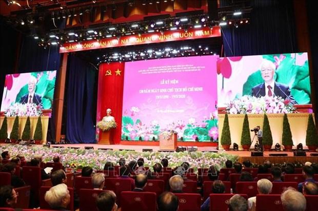 To chuc trong the Le ky niem 130 nam Ngay sinh Chu tich Ho Chi Minh hinh anh 2