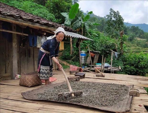 Xom Hoai Khao – noi bao ton moi truong sinh thai, van hoa co truyen cua nguoi Dao Tien o Cao Bang hinh anh 3