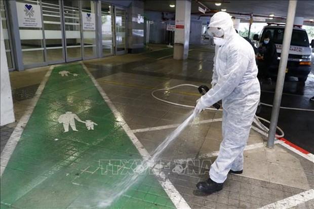 Israel phat trien lop phu khu trung be mat de phong virus SARS-CoV-2 hinh anh 2