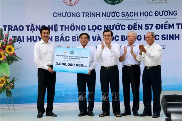 Tang he thong nuoc sach hoc duong cho huyen ven bien o Binh Thuan hinh anh 4