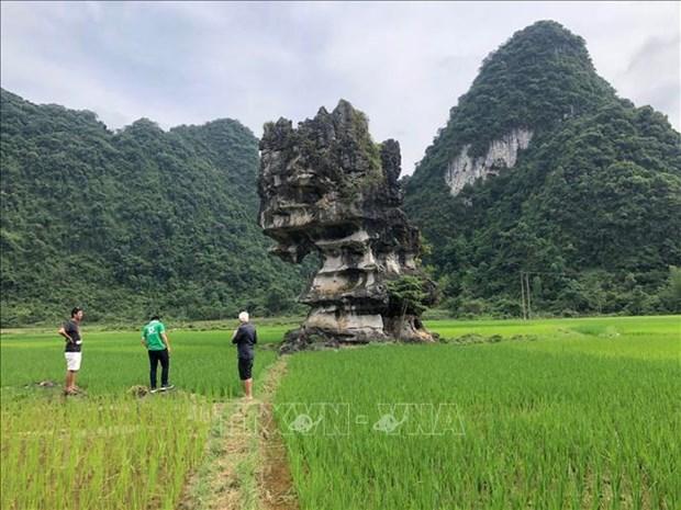 Danh gia khao sat Cong vien dia chat toan cau UNESCO Non nuoc Cao Bang hinh anh 2