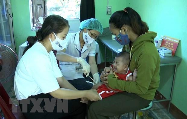 Quang Tri len ke hoach tiem chung cho tat ca tre em de phong benh bach hau hinh anh 1