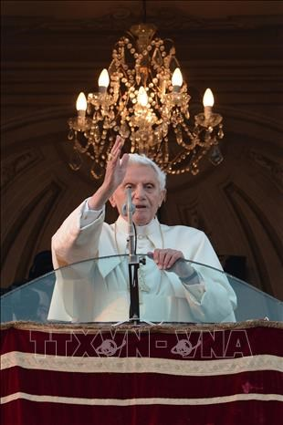 Giao hoang danh du Benedict XVI tro thanh giao hoang cao tuoi nhat trong lich su hinh anh 1