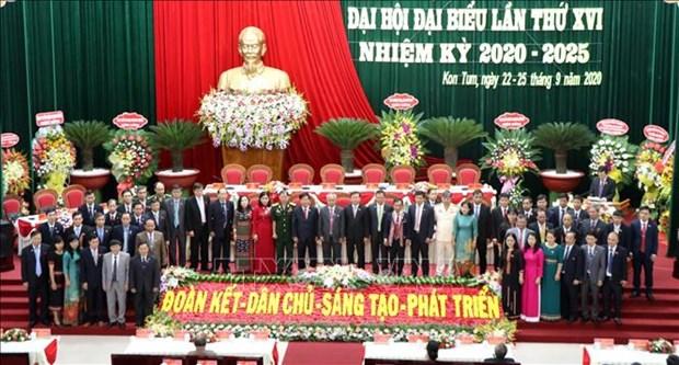 Tien toi Dai hoi XIII cua Dang: Dua tinh Kon Tum phat trien nhanh va ben vung hinh anh 1