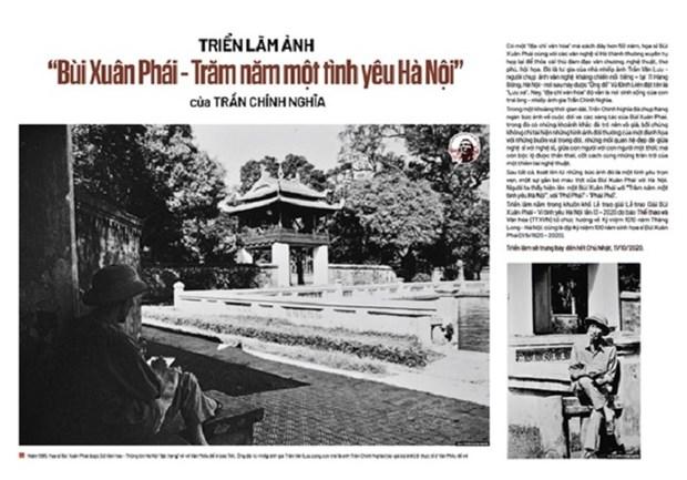 "Trien lam anh ""Bui Xuan Phai – Tram nam mot tinh yeu Ha Noi"" hinh anh 1"