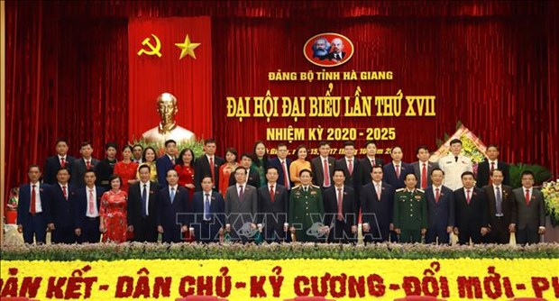 Ong Dang Quoc Khanh duoc bau lam Bi thu Tinh uy Ha Giang hinh anh 1