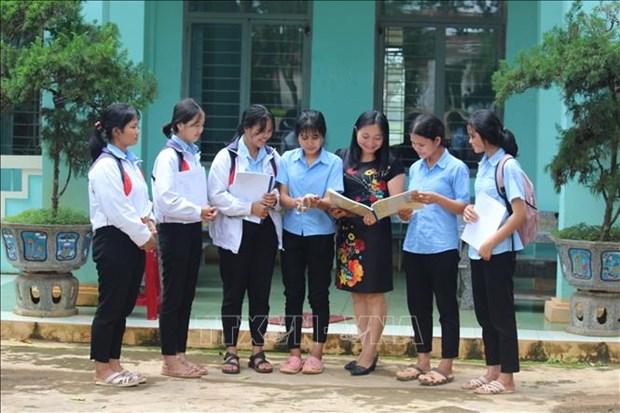 Tang cuong kha nang tiep can tieng Viet cho tre mau giao dan toc thieu so o Gia Lai hinh anh 1