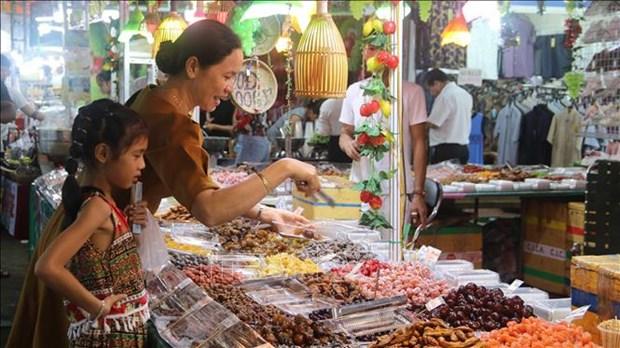 Khai mac Hoi cho xuc tien thuong mai gan voi le hoi Ok Om Bok cua dong bao Khmer hinh anh 3