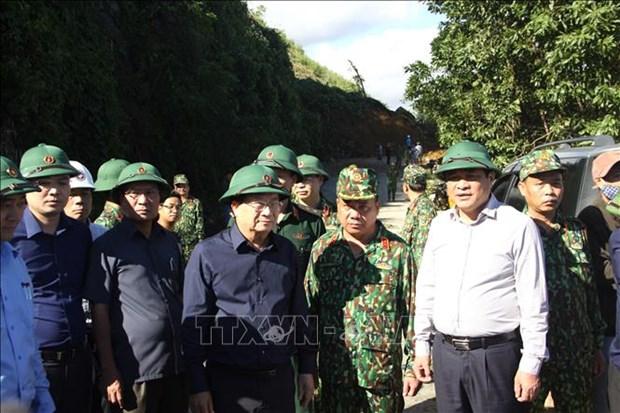 Vu sat lo tai Nam Tra My - Quang Nam: Pho Thu tuong Trinh Dinh Dung den Bac Tra My truc tiep chi dao tim kiem, cuu nan hinh anh 1