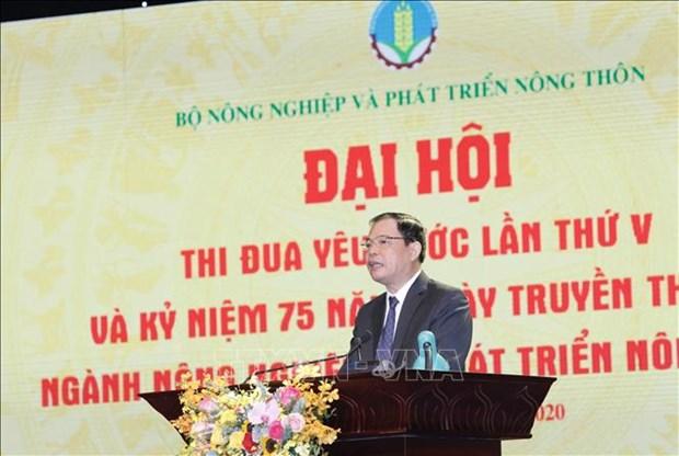 Pho Chu tich nuoc Dang Thi Ngoc Thinh: Phan dau xay dung nen nong nghiep thinh vuong, nong dan giau co, nong thon van minh, hien dai va an toan hinh anh 3