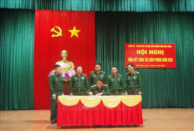 Bo doi Bien phong Dak Nong thuc hien tot nhiem vu vua bao ve bien gioi, vua phong chong dich hinh anh 3