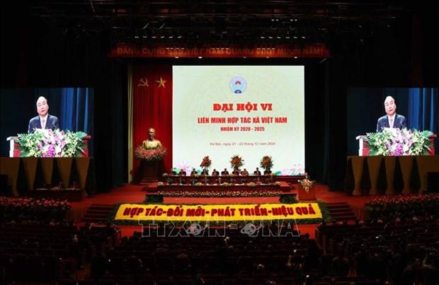 Thu tuong Nguyen Xuan Phuc: Phat trien kinh te tap the phai xuat phat tu nhu cau thuc su cua nhan dan hinh anh 1