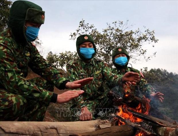 """Bo doi Bien phong Lai Chau """"an nui, ngu rung"""" trong gia ret de lam nhiem vu hinh anh 8"""