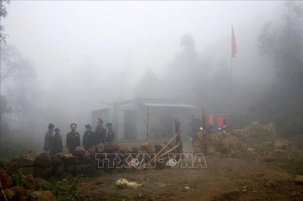 """Bo doi Bien phong Lai Chau """"an nui, ngu rung"""" trong gia ret de lam nhiem vu hinh anh 2"""