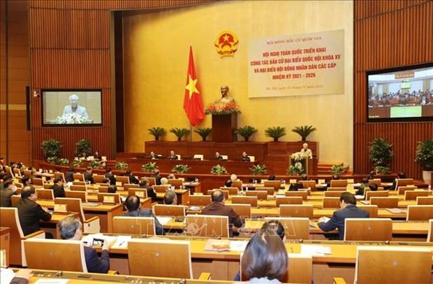 Tong Bi thu, Chu tich nuoc Nguyen Phu Trong: Tap trung chuan bi, to chuc thanh cong cuoc bau cu dai bieu Quoc hoi va HDND cac cap nhiem ky 2021-2026 hinh anh 1
