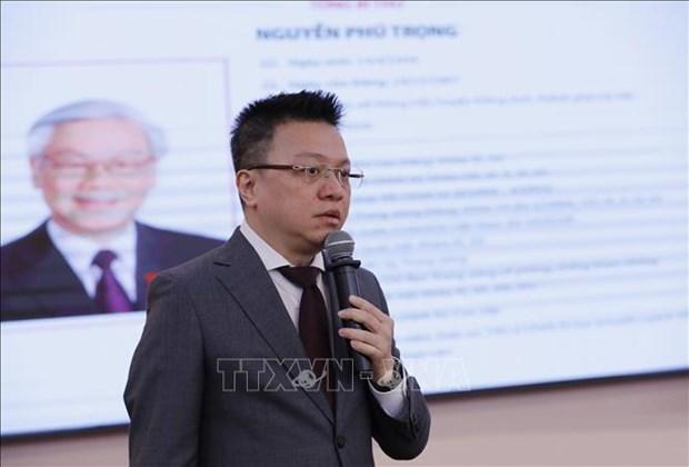 Bi thu Dang uy, Pho Tong Giam doc TTXVN Le Quoc Minh: Lan toa kip thoi, chinh xac thong tin chinh thong ve Dai hoi XIII cua Dang hinh anh 1
