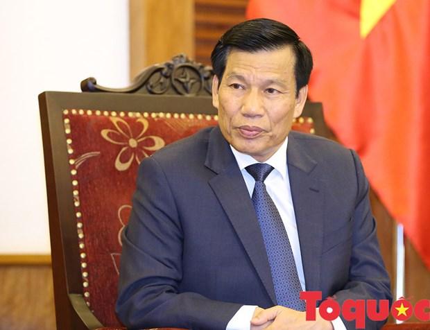 Dai hoi XIII cua Dang: Lan toa hieu qua ve dep ban sac van hoa cua giang son, gam voc Viet Nam hinh anh 1