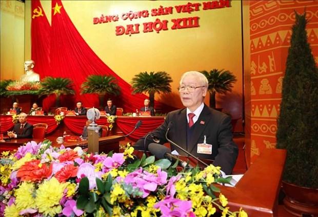 Dai hoi XIII cua Dang thanh cong tot dep: Thong qua Nghi quyet Dai hoi dai bieu toan quoc lan thu XIII cua Dang hinh anh 1
