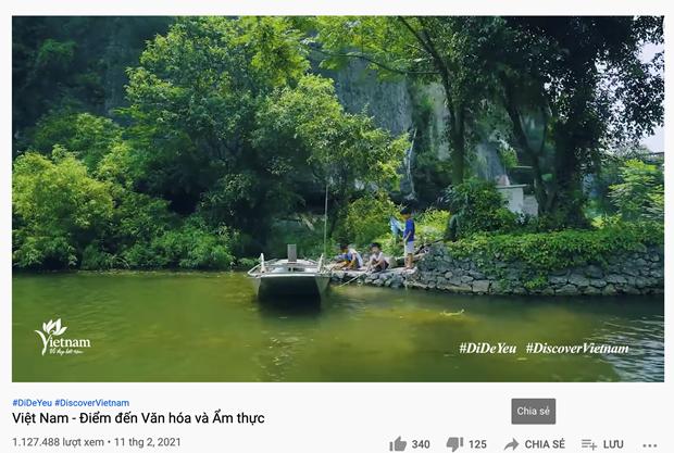 Quang ba ve dep dat nuoc, con nguoi Viet Nam tren nen tang so hinh anh 1