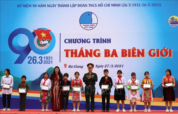 "Nhieu hoat dong thiet thuc den voi dong bao dan toc thieu so trong dip ""Thang ba bien gioi"" hinh anh 2"