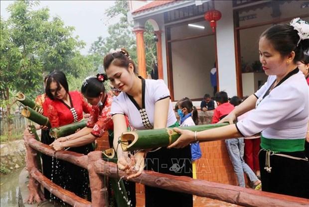 Dac sac le hoi Nang Han cua dong bao dan toc Thai o huyen Phong Tho, tinh Lai Chau hinh anh 8