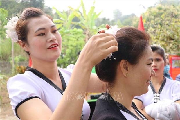 Dac sac le hoi Nang Han cua dong bao dan toc Thai o huyen Phong Tho, tinh Lai Chau hinh anh 12