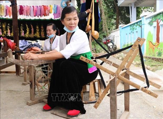 Dac sac le hoi Nang Han cua dong bao dan toc Thai o huyen Phong Tho, tinh Lai Chau hinh anh 4