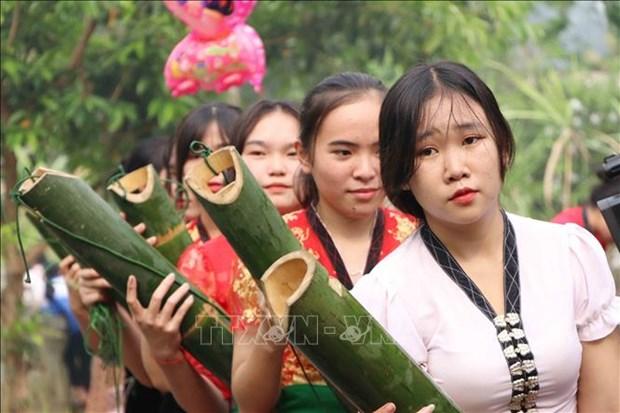Dac sac le hoi Nang Han cua dong bao dan toc Thai o huyen Phong Tho, tinh Lai Chau hinh anh 5