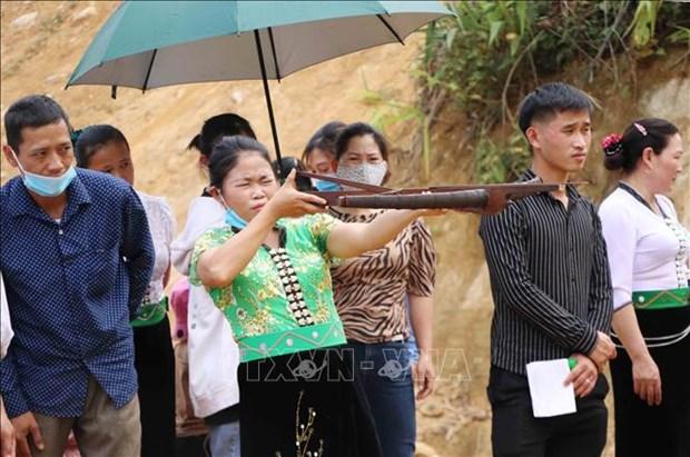 Dac sac le hoi Nang Han cua dong bao dan toc Thai o huyen Phong Tho, tinh Lai Chau hinh anh 9