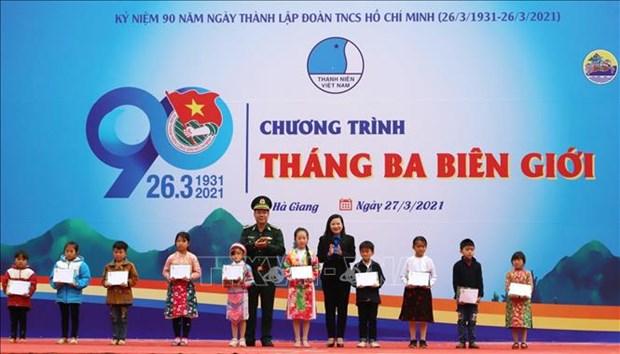 "Nhieu hoat dong thiet thuc den voi dong bao dan toc thieu so trong dip ""Thang ba bien gioi"" hinh anh 3"