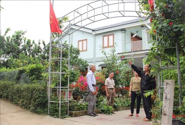 20 nam vuot kho cua Vu Quang - huyen mien nui dau tien dat chuan nong thon moi hinh anh 1