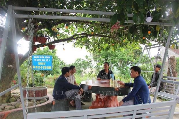20 nam vuot kho cua Vu Quang - huyen mien nui dau tien dat chuan nong thon moi hinh anh 3