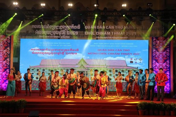 Pho Chu tich Thuong truc Quoc hoi Tran Thanh Man du Tet quan dan mung Chol Chnam Thmay 2021 tai Can Tho hinh anh 4