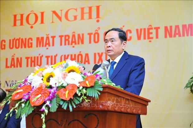 Ong Do Van Chien giu chuc Chu tich Uy ban Trung uong Mat tran To quoc Viet Nam hinh anh 1