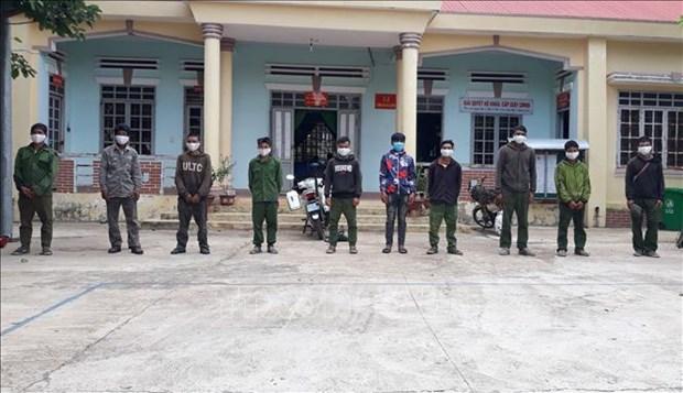 Bien phong Dak Lak phat hien, xu ly nhom doi tuong van chuyen lam san trai phep vao Viet Nam hinh anh 1
