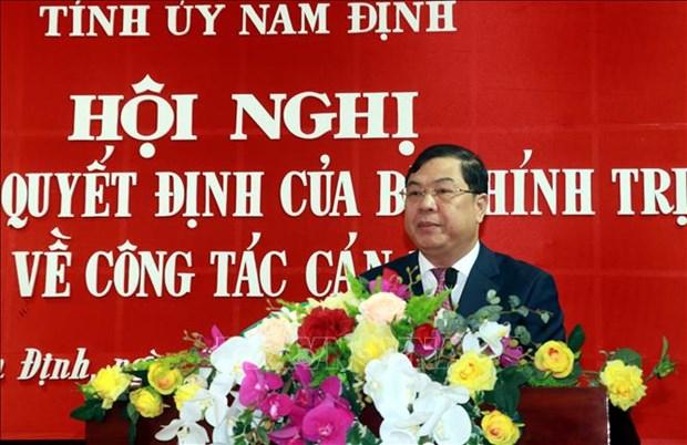 Ong Pham Gia Tuc giu chuc Bi thu Tinh uy Nam Dinh hinh anh 2