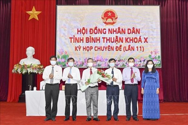 Ong Phan Van Dang duoc bau giu chuc Pho Chu tich UBND tinh Binh Thuan hinh anh 1