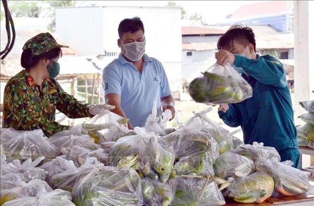 Soc Trang: Luc luong vu trang giup dong bao Khmer on dinh cuoc song hinh anh 1