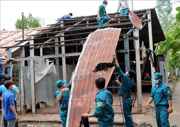 Soc Trang: Luc luong vu trang giup dong bao Khmer on dinh cuoc song hinh anh 2